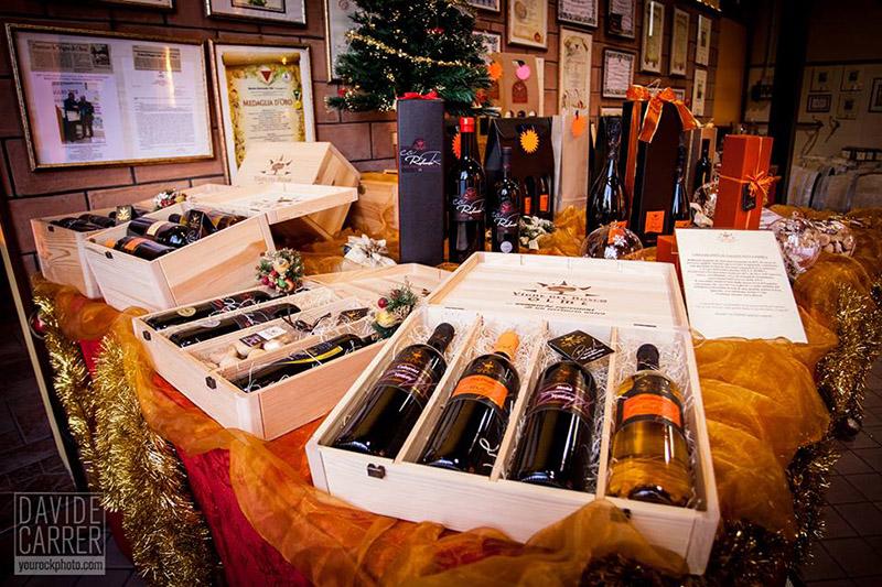 Confezioni regalo di vgne del bosco olmè